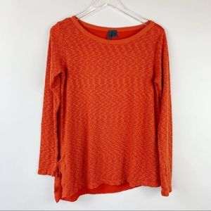 Anthro Left of Center Asymmetrical Hem Sweater S
